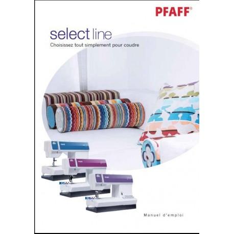 Mode d'emploi PFAFF Select 2.0,3.0,4.0