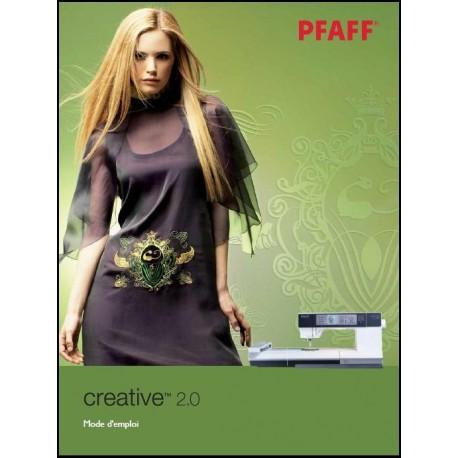 Mode d'emploi PFAFF Créative 2.0