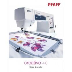 Mode d'emploi PFAFF Créative 4.0