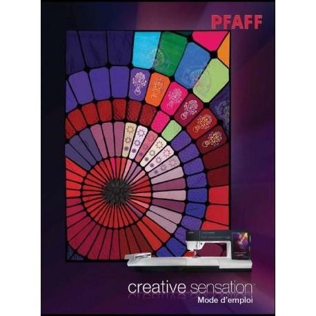Mode d'emploi PFAFF Créative SENSATION