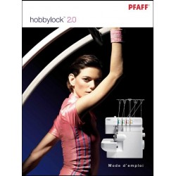 Mode d'emploi PFAFF Hobbylock 2.0