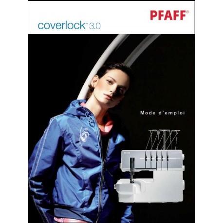 Mode d'emploi PFAFF Coverlock 3.0