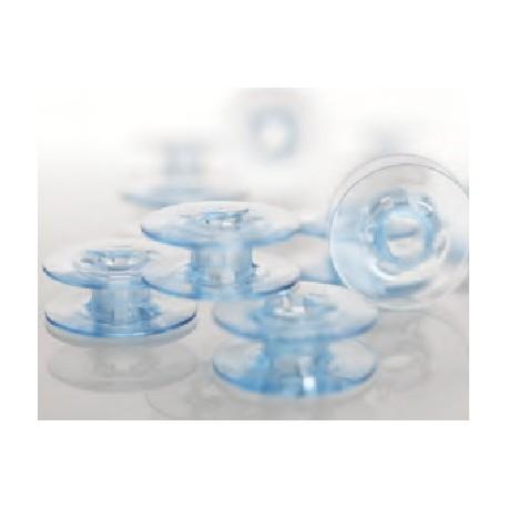 canettes plates bleues