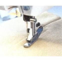 pied pour fermeture à glissière invisible