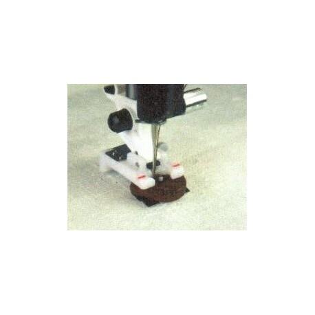 pied pour pose précise de bouton