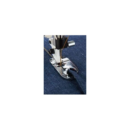 pied rabatteur pour couture à plat 9 mm